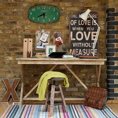 photo Rustic-country-home-office--Country-Homes-and-Interiors--Housetohomecouk_zps8c88778b.jpg