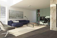 Sfeerimpressie woonkamer, like de kleuren en accesoires | Interieur ...