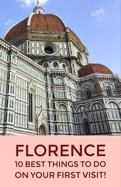 Planning your first visit to Florence? Read my post to discover the top ten experiences you can have in this amazing city. The best must-see sights, from the Uffizi to the Duomo and Ponte Vecchio, the best gelaterias, and tips to make the most of your visit. #visitflorence #italytravel #visittuscany #discovertuscany #duomodifirenze #uffizigalleries #pontevecchio #boboligardens #gelato