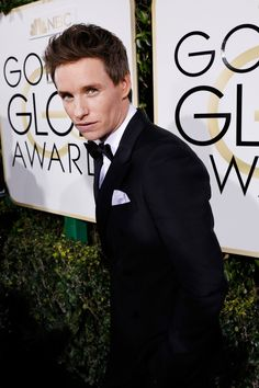 Inside the Golden Globes: Eddie Redmayne