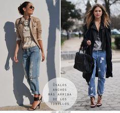 Look At You: Inspiración – Jeans rotos