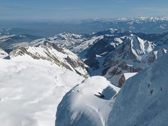 """See Switzerland, Germany, Austria, Liechtenstein, France and Italy at the same time, which can be dated """"Säntis"""" (Switzerland) from"""