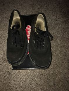 buy popular 8c0a1 52caf ...  accessories  kidsclothingshoesaccs  unisexshoes (ebay link). See more.  Authentic Black Off The Wall Vans Size 2.0 Kids  fashion  clothing  shoes