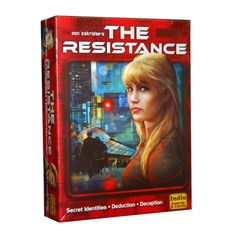 Resistance - super simple us. vs. them party game, less complicated than One Night Werewolf