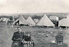 Anglo-Boer War's British Concentration Camps for Boer men, women & children.