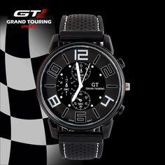 95029a9c393 Pánské sportovní hodinky Grand Touring GT – ČERNÉ Na tento produkt se  vztahuje nejen zajímavá sleva