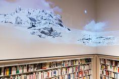 Animation murale pour la librairie Payot rive gauche | HEAD