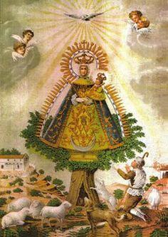 Nuestra Señora de Cortes de Albacete - Aparición.
