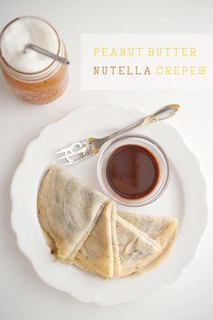pb nutella crepes