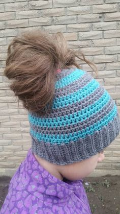 Messy Bun, Down Hairstyles, Your Hair, Crochet Patterns, Winter Hats, My Etsy Shop, Pony, Homemade, Awesome