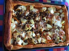 My amazing Left-overs Tart is perfect for supper with a salad