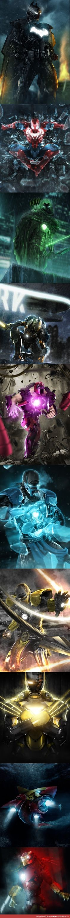 Iron man mashups