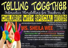 Interactive Storytelling for Teachers of  Special Needs, Teaching Tools, Special Education, The Fosters, Storytelling, Conference, Random Stuff, Therapy, Language