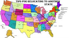 Moving can be a stressful event and relocating to another state even more stressful but with these tip and checklist your move can be smooth and drama free.