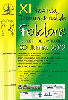 XI Festival Internacional de Folclore   # 30 de Junho, 2012 - 18h00   @ São Pedro de Castelões