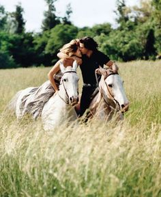love & horses...