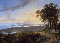 Vista dei campi Flegrei dal Belvedere di Camaldoli by Hendrik Voogd