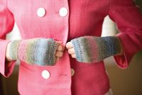 Simple Mitts pattern - from Love of Knitting magazine's special Knit Accessories 2014 Issue