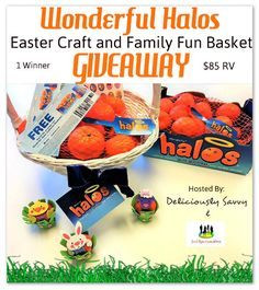 Forever Dreamin': Wonderful Halos Easter Craft and Family Fun Basket...