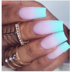 Love the turquoise tips