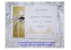 CreativDS - Gästebuch zur Goldenen Hochzeit, Calla, GH 38