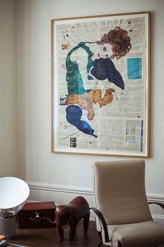 Berlin Apartment of Karena Schuessler