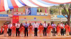 Cho thuê Dù che ngoài trời-Khánh thành Trường tiểu học Võ Thị Sáu ở Lâm Đồng
