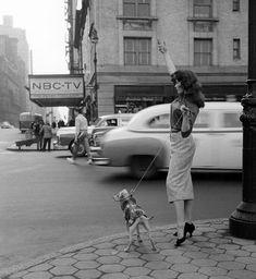 New York 1956. Shot for Playboy by Herman Leonard .
