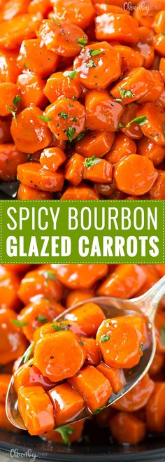 Spicy Bourbon Glazed