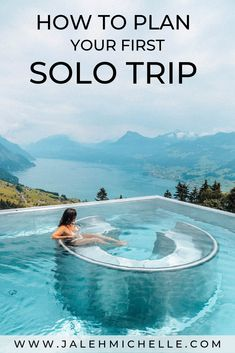 solo travel tip The complete guide to planning your first solo trip! Includes tons of solo travel tips, how to stop being nervous about solo traveling, how to make friends when traveling solo, best first time solo travel destinations, and more! Best Solo Travel Destinations, Solo Travel Tips, Amazing Destinations, Travel Advice, Travel Guides, Places To Travel, Travel Hacks, Travel Packing, Solo Travel Europe