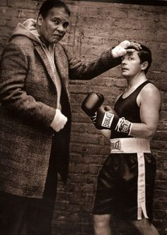 Muhammed Ali and Michael J Fox by Mark Seliger