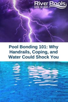 Why does my pool shock me? If you are having this problem, this article breaks down pool bonding to help you learn how to fix it. Wave Pool, My Pool, Inground Pool Designs, Pool Shock, Bond, Waves, Learning, Teaching, Ocean Waves