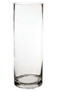 "14"" Cylinder Vase (6 pcs) - $5.29 ea"