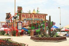 Wild West Water Works entrance