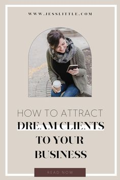 Don't know how to attract dream clients to your business? Check out the best tips to become a client attraction magnet. We've gathered the best ways on attracting your ideal clients and grow your online business. This will help you build a successful and thriving business. Learn more at www.jesslittle.com to learn more. Business Marketing Strategies, Email Marketing Lists, Creative Business, Business Tips, Online Business, Business Checks, Business Motivation, Social Media Tips, Attraction