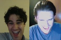 "Remember the time Darren Criss and Aaron Tveit hopped on Skype to duet on ""Take Me or Leave Me"" from Rent? We have the exclusive video from the golden-voiced pair of buddies, as they playfully debate who audiences are most stoked to see at the first annual Elsie Fest, the Coachella of show tunes, set for New York on Sept. 27."