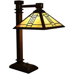 Mylene 1-light Off-white 22-inch Elongated Tiffany-style Table Lamp