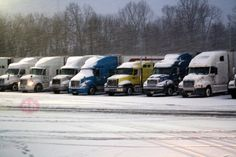 #TruckerTuesday Have you seen the show Ice Road Truckers on the History channel? I thought it was a great show until I started driving a truck and realized that a lot of it was exaggerated and over the top. Now, I never drove a semi truck through Alaska or even over a frozen lake.