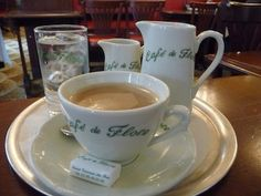 Cafe de Flore, Paris a coffee in the afternoon or an omelet and a glass of Champagne for the perfect Parisian dinner
