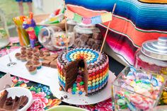 Mexican Fiesta Party - Pinata Cake