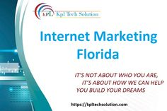 Get the top digital marketing services and internet marketing solution. Our organization includes PPC, SEO, Website Design, Social Media optimization Services. Online Marketing Services, Seo Services, Internet Marketing, Social Media Marketing, Digital Marketing, Web Design Services, Web Development Company, Florida, The Florida