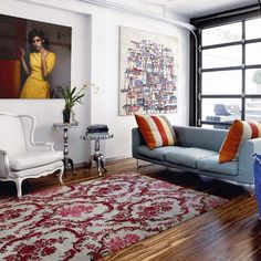 Living room | Modern New York town house tour | House tour | Modern decorating ideas | PHOTO GALLERY | Livingetc | Housetohome