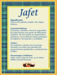 jafet significado - Buscar con Google
