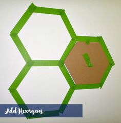 adding additional hexagons to wall