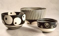 Kathy Erteman. 3 bowls. So simple and fun!