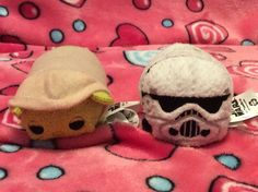I only have 2 Star Wars Tsum Tsums for now. Tsum Tsums, Disney Tsum Tsum, Winter Hats, Star Wars, Beanie, Stars, Sterne, Starwars, Beanies