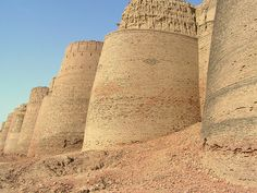 Derawar Fort, #Cholistan, #Pakistan #architecture