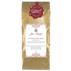 Northanger Abbey - Rose Congou Tea A black China tea enjoyed during the Regency eraFlavoured with rose petals for a rich, sweet taste