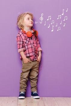 Niños con estilo
