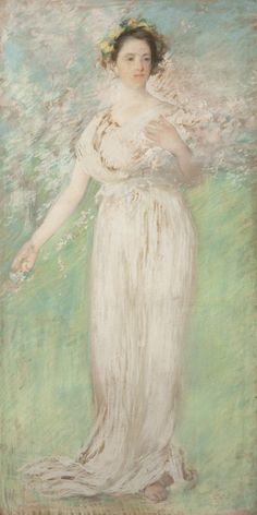 Symbol of Spring (1900) - Edmund Charles Tarbell